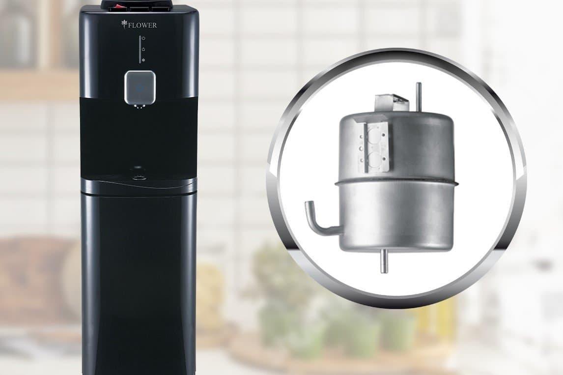 Flower Water Dispenser Stainless Steel